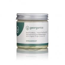 GEORGANICS looduslik orgaaniline remineraliseeriv hambapasta kookosõli baasil (rohemünt) 60 ml