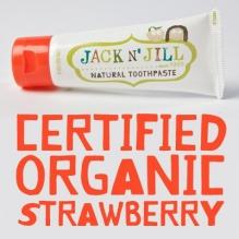 JACK N' JILL looduslik hambapasta Maasikas 50g
